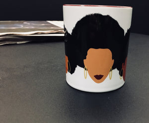Three Women Coffee Mug