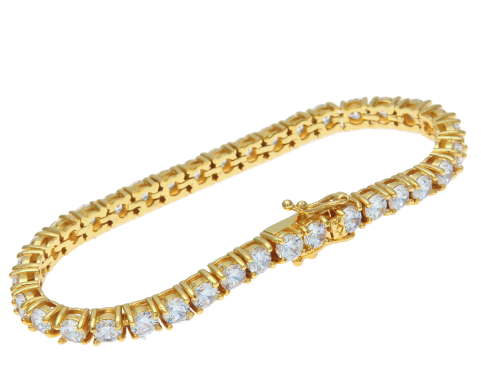 Diamond Dancing GOLD Bracelet