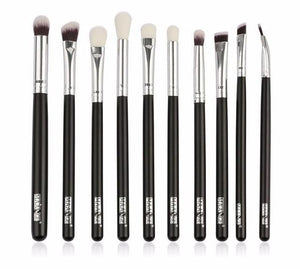 10pc Eye Brush Set