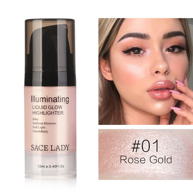 Liquid Highlighter For Face and Body