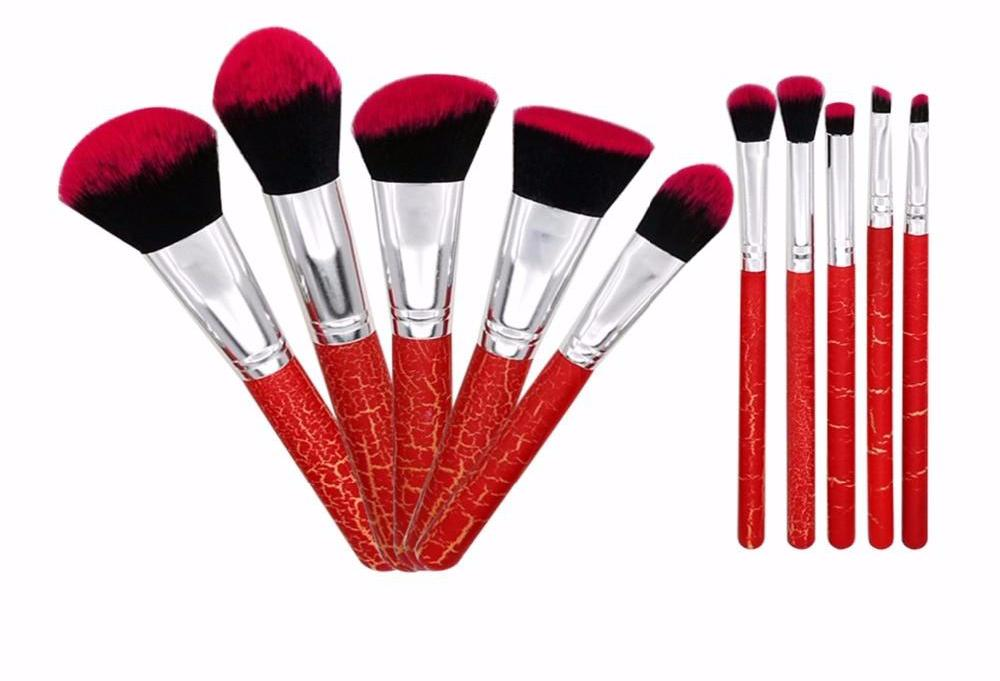 Professional Makeup Brushes Set 10pcs