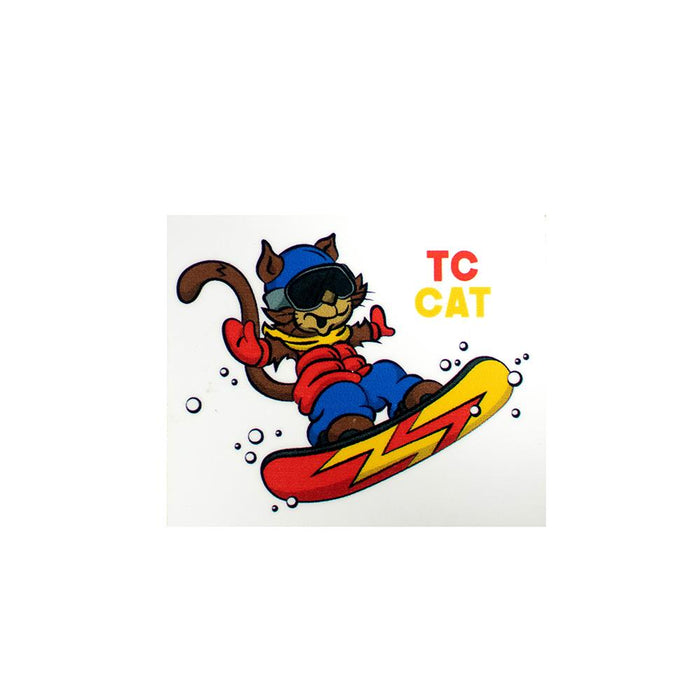 TC Cat Sticker