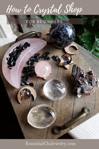 Are you anxious about visiting a crystal shop for the first time? Here are a few tricks to crystal shop like a pro. #cryatals #chakras metaphysical shop, crystal grids, how to pick out crystals online, find the perfect crystal for your energy, #empath