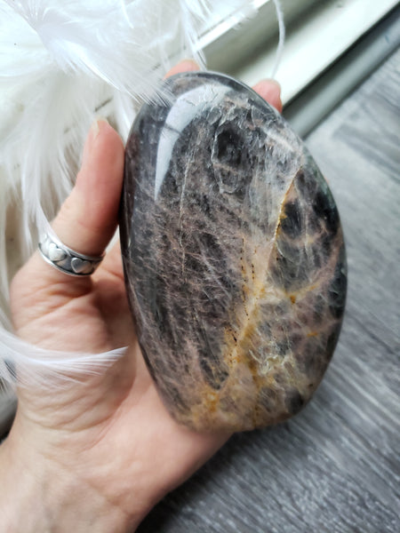 Black Moonstone Free Form A (1.4lbs) - essentialchijewelry