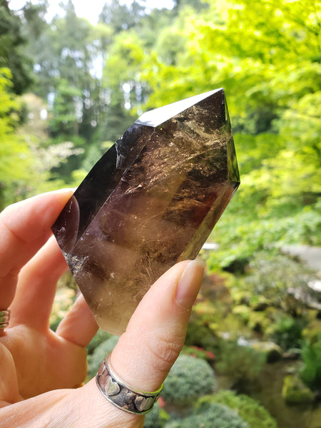 Smoky Rutilated Quartz - essentialchijewelry