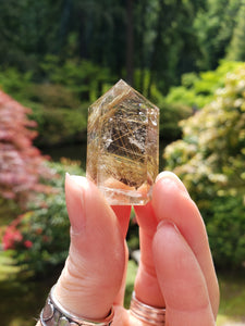 Rutilated Quartz Point C - essentialchijewelry
