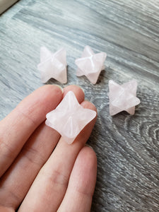Rose Quartz Merkaba - essentialchijewelry