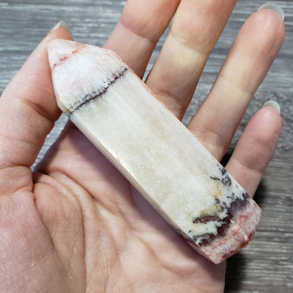 Rainbow Calcite Point (14a) - essentialchijewelry