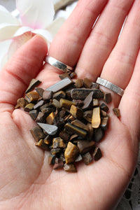 Tiger Eye Crystal Chips - essentialchijewelry