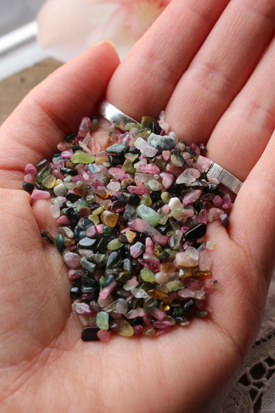 Tourmaline Crystal Chips - essentialchijewelry