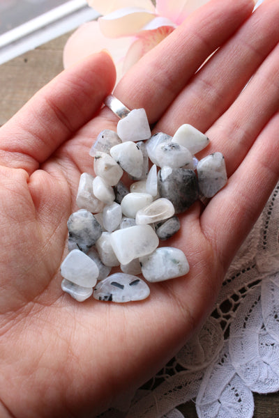 Rainbow Moonstone Crystal Chips - essentialchijewelry