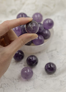 Amethyst Mini Sphere 25mm