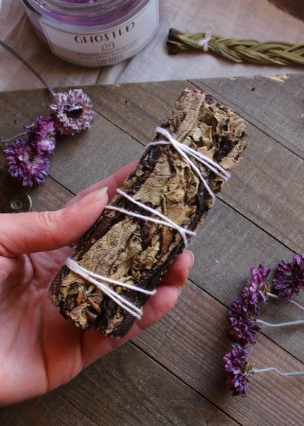 Black Sage - Mugwort Smudge Stick