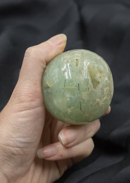Prehnite with Epidote Sphere 52PD