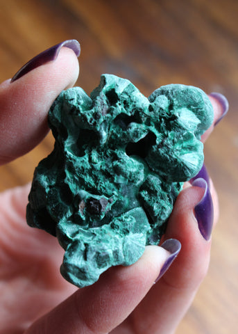 Raw Malachite 14M9