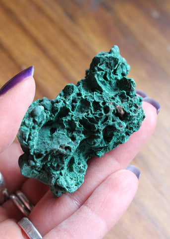 Raw Malachite 19M6