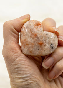 Sunstone Palmstone Heart 9SD