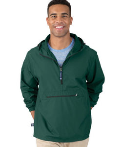 Charles River Adult Pack N Go Pullover 9904 with Embroidery
