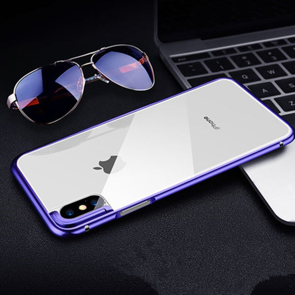 High-grade Metal  iPhone X Case