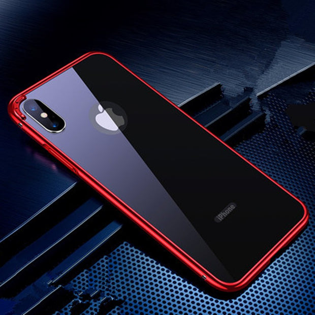 High-grade Metal  iPhone X Case - MY CASE
