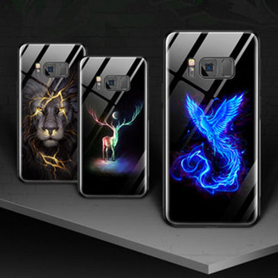 Luminous Glass Creative Samsung Phone Case - MY CASE