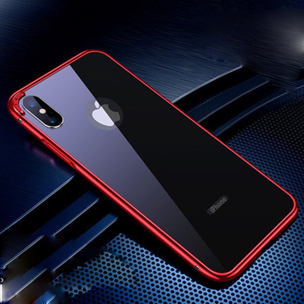 Ultra Magnetic High-grade Metal Frame Drop Protection iPhone Case - MY CASE