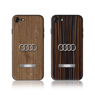 Wood Grain Car Phone Case AUDI - MY CASE