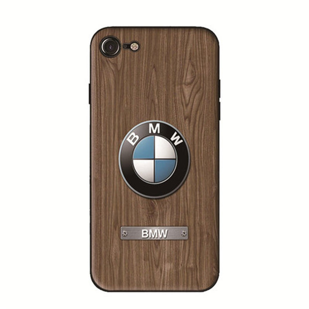 Wood Grain Car Phone Case BMW - MY CASE