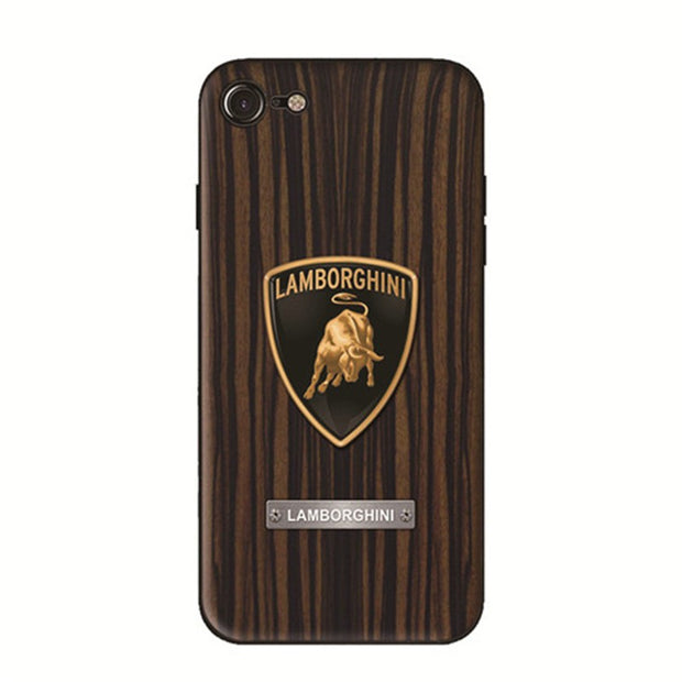 Wood Grain Car Phone Case Lamborghini - MY CASE