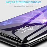 UV Glue Tempered Glass Full Cover For Samsung Galaxy - MY CASE