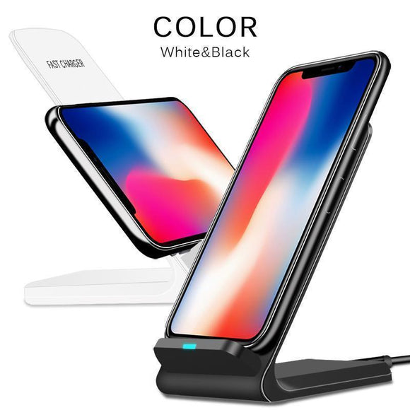 Quick Wireless Charger For iPhone X, 8/8+ Samsung S8 S8+ S9 S9+ - MY CASE