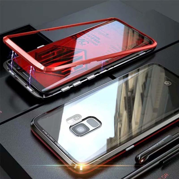 Luxury Magnetic Adsorption Metal Case For Samsung - MY CASE