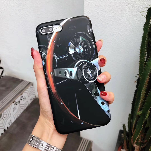 Sports Car Tire iPhone Case - MY CASE