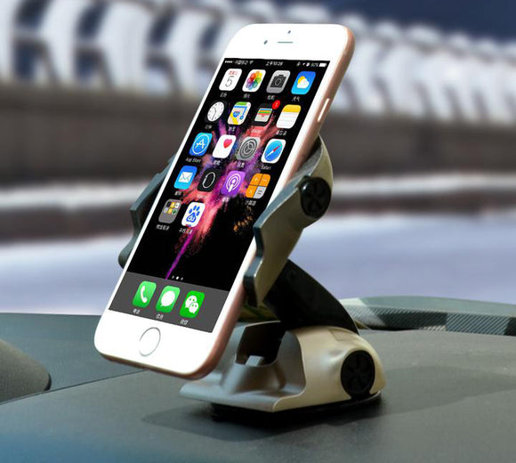 Multifunction 360 Degree Transforming Smartphone Car Mount - MY CASE