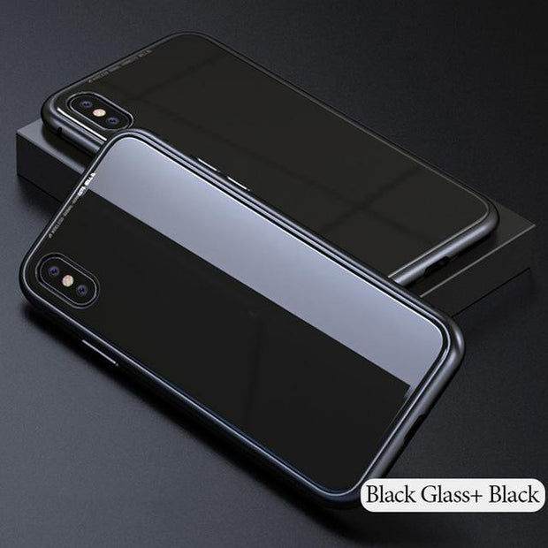 Luxury Magnetic Adsorption iPhone Case - MY CASE