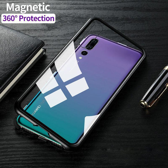 Luxury Magnetic Adsorption Huawei Case
