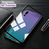 Luxury Magnetic Adsorption Huawei Case - MY CASE