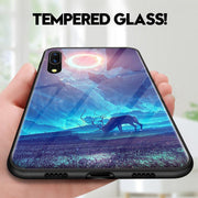 Tempered Glass Hard Back Phone Case For Huawei P20 Pro P20 - MY CASE