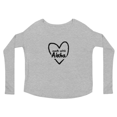 Made with Aloha 2 Ladies' Long Sleeve Tee