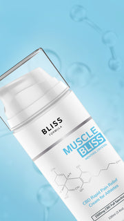 Bliss Formula - Muscle Bliss® (Sports Cream) 1500mg CBD at 100ml