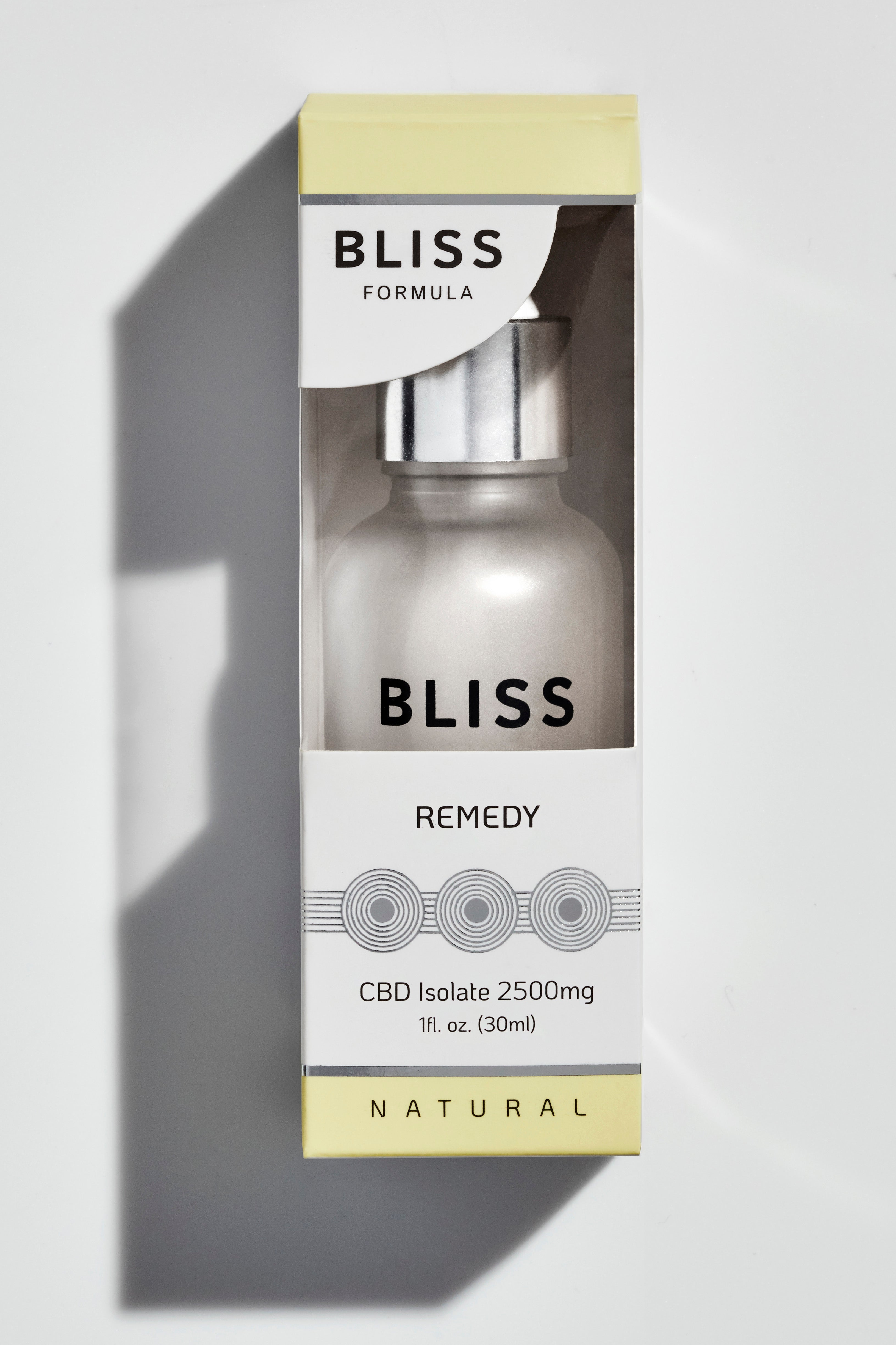 BLISS FORMULA -  REMEDY 30ml Tincture (2500mg CBD oil)
