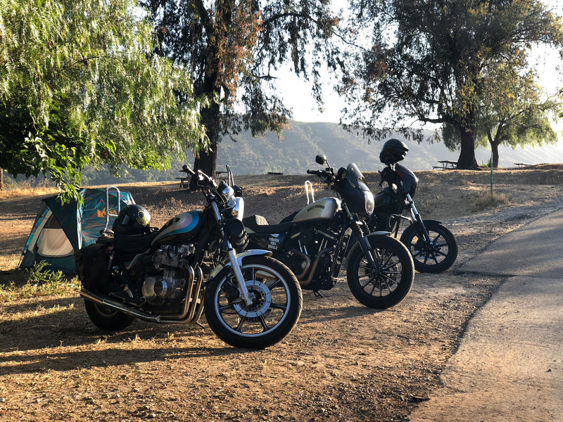 Motorcycle Camping: The Basic Necessities