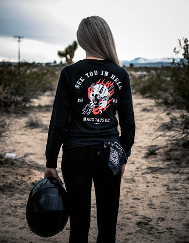 Hellbound / See You In Hell Longsleeve T-shirt