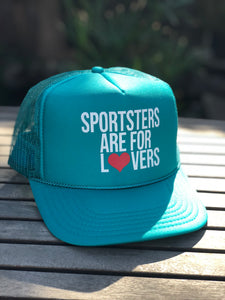 Sportsters are For Lovers Trucker Cap