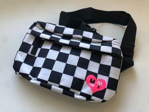 Ride Fast Checker Bag