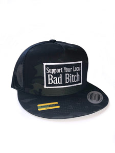 Support Your Local Bad B Snap Back