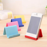Mobile Phone Holder Candy Mini Portable Fixed Supplies Stent Stand Storage Phone Holder For IPhone 4 5 6 7 ipad MP4 MP5 Samsung