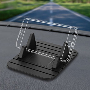 Car Dashboard Non-slip Mat Rubber Mount Phone Holder Universal Stand Bracket For iPhone Samsung Xiaomi Huawei Mobile Holder