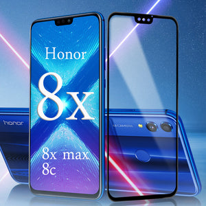 Protective Glass On For Huawei honor 8x max 8c 8 pro Screen Protector Tempered Glas Huavei Hauwei Huawey Honer Honor8x 9H Film