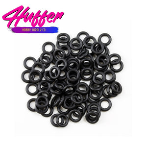 "50Pcs 6mm O-Rings: Simulated 1/24 Airbag Suspension Scale 6"" diameter. 2 stacked at 3"" for a closed/deflated look"
